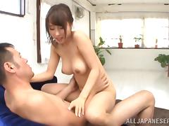 Japanese, Asian, Couple, Cowgirl, Japanese, Pussy