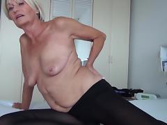 Bed, Bed, Blonde, European, Horny, Masturbation