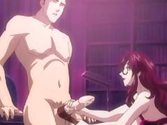Anime, Anime, Big Cock, Cum, Hentai, Monster Cock