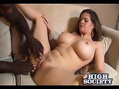 Busty June Summers Gets Big Black Cock