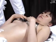 Asian Chick Gets Stripped
