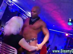 Strippers fucking party sluts doggy style hard