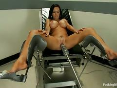 Brunette, Big Tits, Boobs, Brunette, Masturbation, Silicone