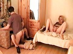 Mommy, Blowjob, Group, Mature, MILF, Mom