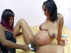 Black Lesbian, Amateur, Big Tits, Bitch, Black, Brunette
