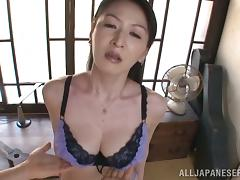Japanese, Asian, Big Tits, Blowjob, Couple, Cum in Mouth