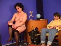 Mature Granny Wants Stripling Cock