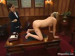 Nice Codi Milo gets fated up and toyed wide of her female big gun