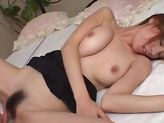 Japanese, Bedroom, Brunette, Couple, Hairy, Japanese