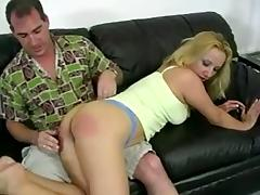Stunning Rachel gets spanked brutally and fingered