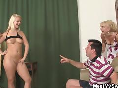 mom and dad, here's my slut
