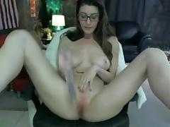 Perfect webcam masturbation show