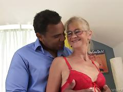 Black, Big Cock, Black, Granny, Mature, Monster Cock