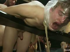 Unbelievable Gay Orgy Goes Extremely Into BDSM Action