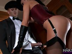 All, Blowjob, Brunette, Corset, Femdom, Mature
