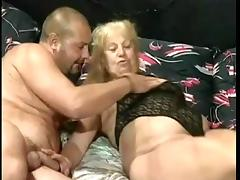Aged, Aged, Big Tits, Foursome, German, Group