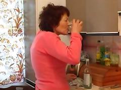 Granny, Bottle, Granny, Masturbation, Mature, Old