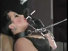 Teen, Leather, Sex, Smoking, Teen, Cigarette