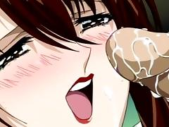 Anime, Anime, Blowjob, Close Up, Fingering, Hentai