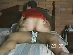 intimate movie scene of wife fucking stranger by WF