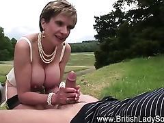 Mature Fetish, Big Tits, Blonde, Blowjob, Boobs, Mature