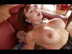 Sexy Vanessa - RedHead Milf Gangbanged