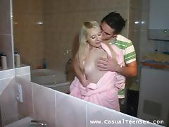 Bathroom, Amateur, Bath, Bathing, Bathroom, Couple