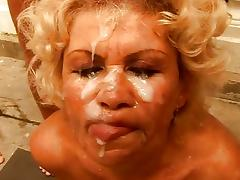 GANGBANG - Effie, mature granny