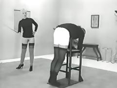 Caning, Caning, Femdom, Punishment, Vintage, Antique