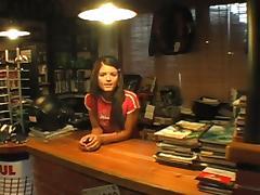 Veronika in the Bike Shop