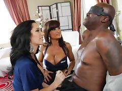 All, Big Tits, Blowjob, Cop, Ffm, Interracial