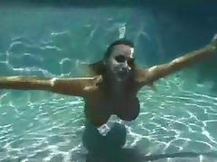 Amazing underwater oral-service