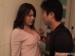 Rough, Asian, Big Tits, Bitch, Couple, Doggystyle