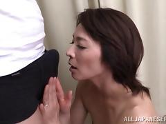 Asian Mature, Asian, Blowjob, Couple, Hairy, Horny