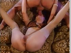 Squirt, Anal, Fisting, German, Squirt, Stockings